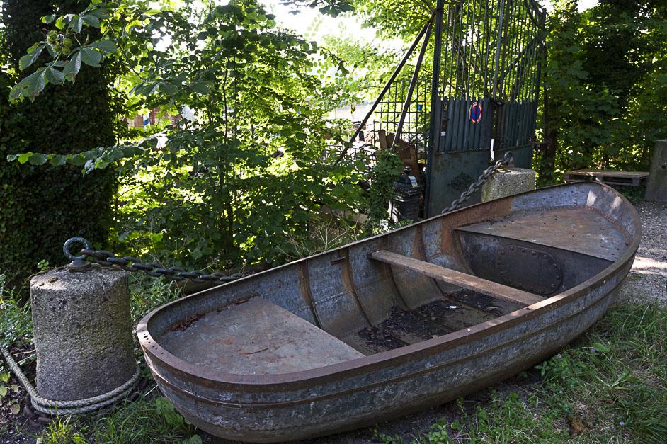 bords d'Oise barque