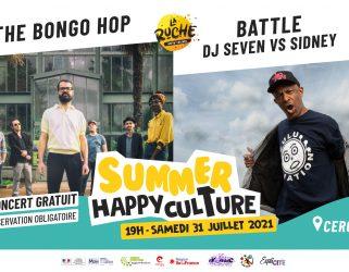Accéder à SUMMER HAPPY CULTURE : The Bongo Hop + Battle Dj Seven VS Sidney