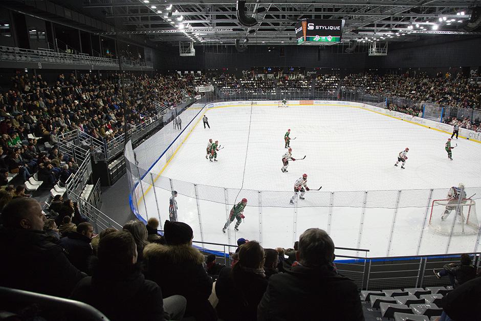 Match des Jokers en février 2018 à l'Aren'Ice