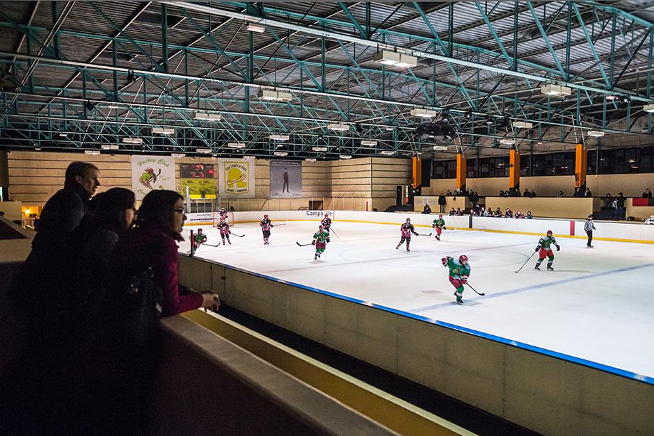 Match des Jokers en février 2013 à l'ancienne patinoire de Cergy-Préfecture