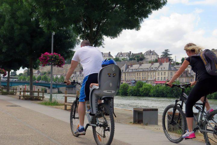 Promenade à vélo sur les berges de l'Oise Saint-Ouen l'Aumône