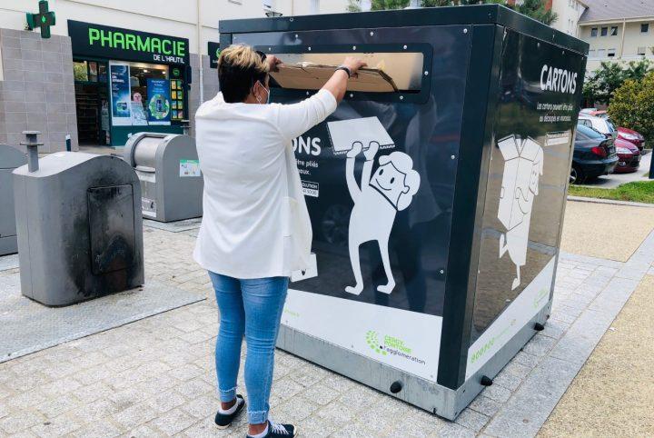 Ecobox quartier des Toupets à Vauréal