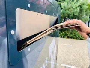 Ecobox dispositif de collecte des gros cartons