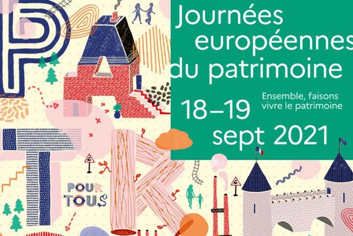 Journées européennes du patrimoine 18-19 septembre 2021